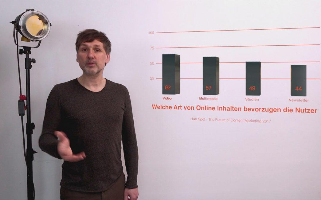 Mit Onlinevideo mehr Kunden erreichen. Warum? Weil Kunden es sich wünschen.